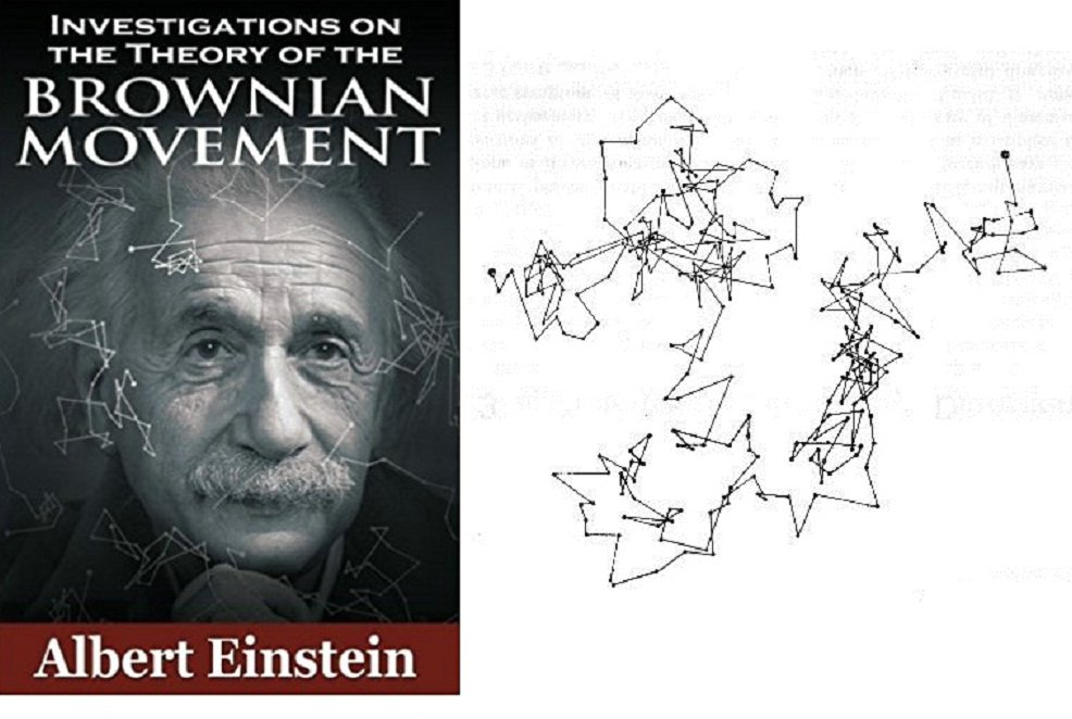 Brown motion and Einstein1